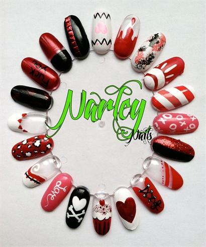Valentine's Day Nail Wheel