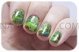Spring inspired nail art