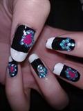 Lady Gaga & Bill Kaulitz inspired nails