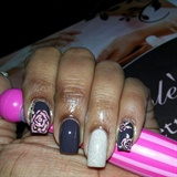 My Dainty Nails (left hand)