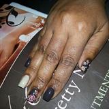 My Dainty Nails (right hand)