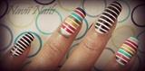 rainbow striped