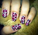 pink animal prints