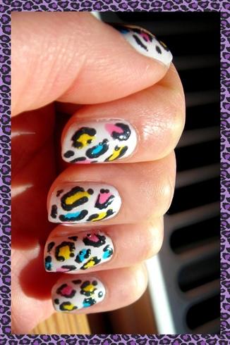 Multicolored Leopard Print