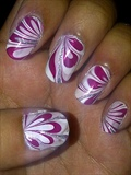 Pink Marble Effect
