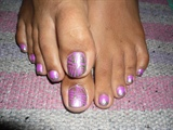 self print on toes..
