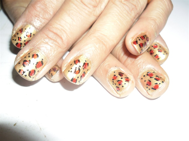 on my mom's nails:)