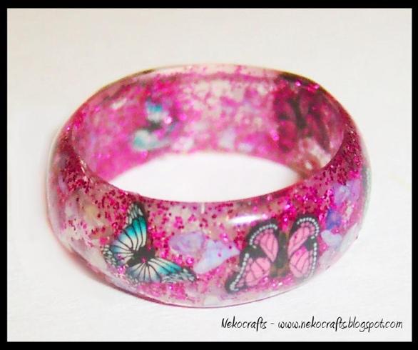 butterfly gel ring