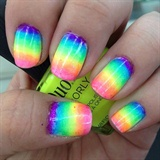 Rainbow Blending