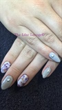 Gel Nails With Marble