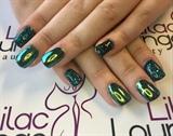 Green Sparkle & Green Chrome