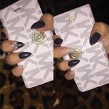 Stiletto Crown Acrylic Nails
