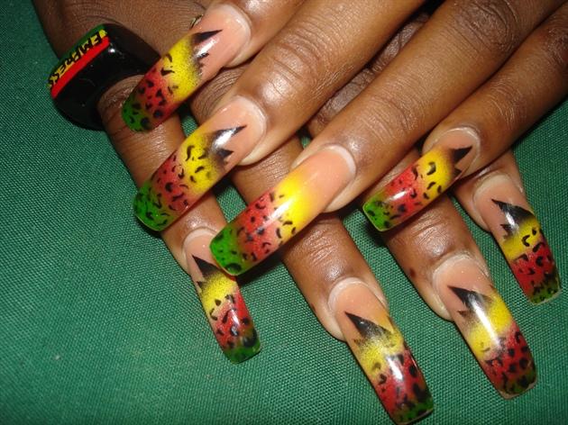 Caribbean Roots Nail Art Gallery
