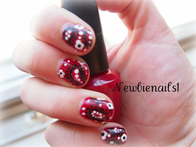 Bandana Nail Art