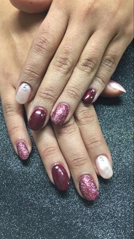 2 Color Nails Nail Art Gallery