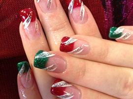 nail art: Little Bit of Christmas