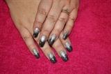 Silver Black Fade