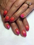 Orange 2 Pink Fade