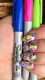 Lovin Sharpie Nails