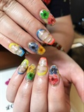 Gel With Designs