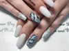Summer White With Foils And Marbles