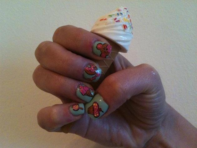 Yummy.........Gel Nails