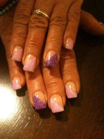 Glitter timee........Gel Nails