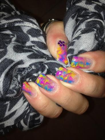 Water Murble ...... Gel Nails