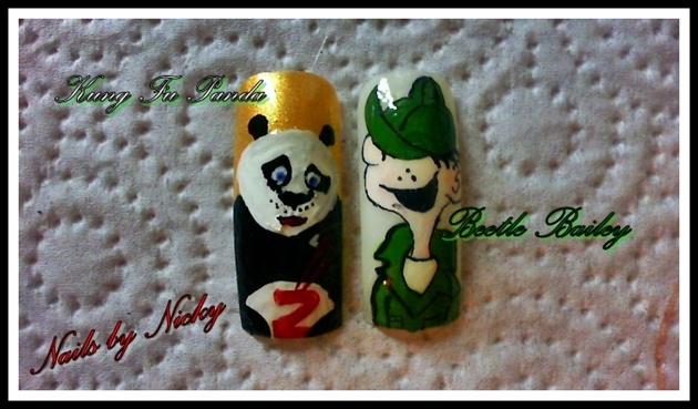 Beetle Bailey & Kung Fu Panda