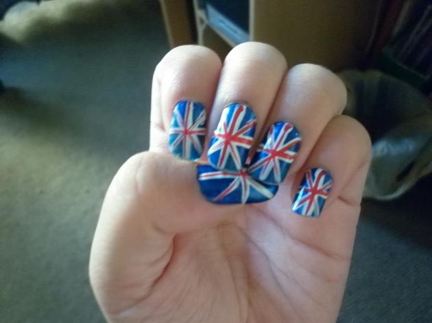 England Nails Nail Art Gallery