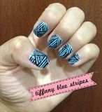 tiffany blue stripes