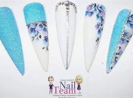 nail art: Aquarelle Nail Art