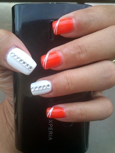 orange&white