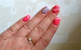 Heirloom lilac & Kitten heel