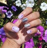 lilac & glitter