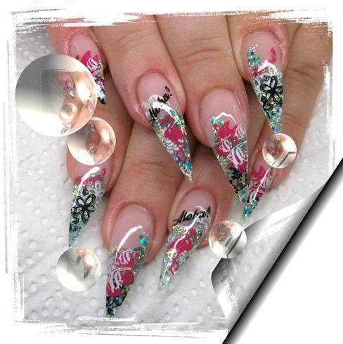 Christmas Stiletto Nails.Stiletto Nails Nail Art Gallery