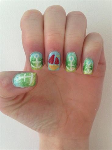 Sea Side Nails