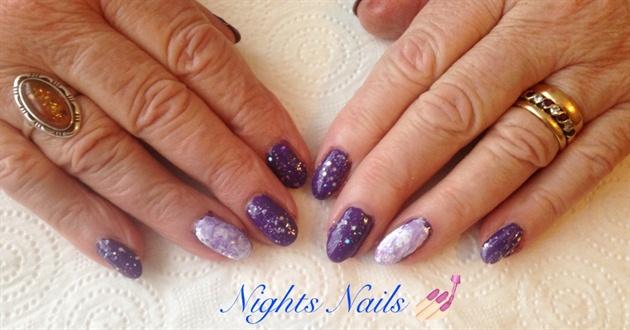 Purple Hand Mabling