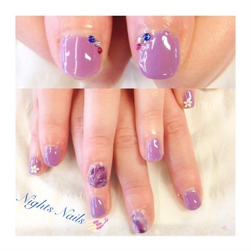 Purple Shellac