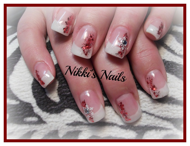 Another Glitter Red French