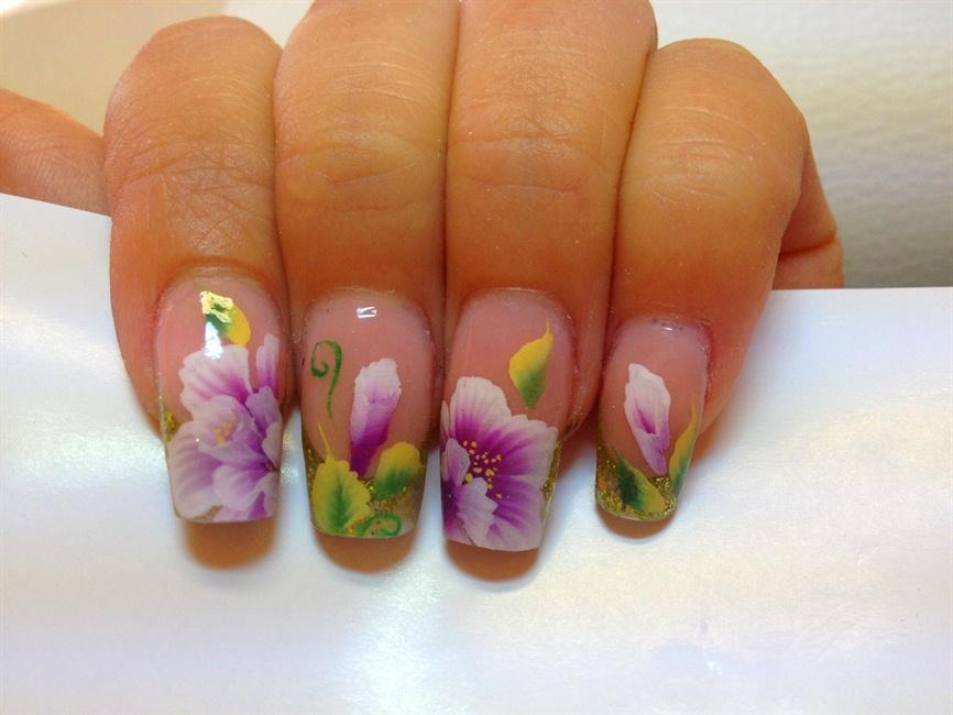 One stroke nail art gallery prinsesfo Choice Image