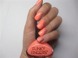 Funky Peach Floral