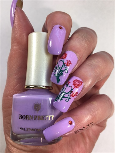 Lilac Thermal Roses