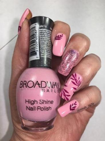 Girly Fall Nails