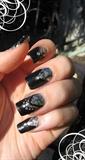 Black silver victorian