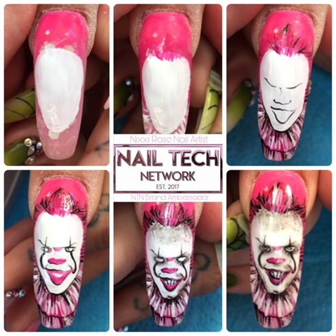 Pennywise Hand Painted