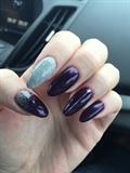 Purple Silver Glitter