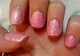 Pink Arabic Nails