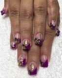 Magenta & purple