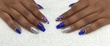 Darle Blue & Silver